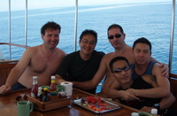 gay liveaboard scuba diving